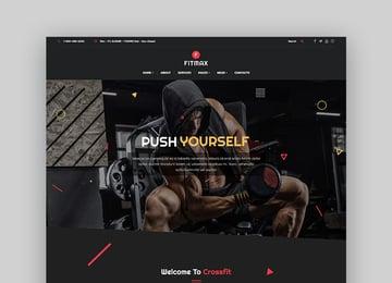Fitmax Fitness WordPress Theme