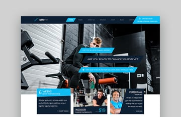 Stayfit Health and Fitness WordPress Themes