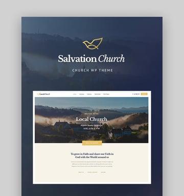 Salvation WordPress Church Template