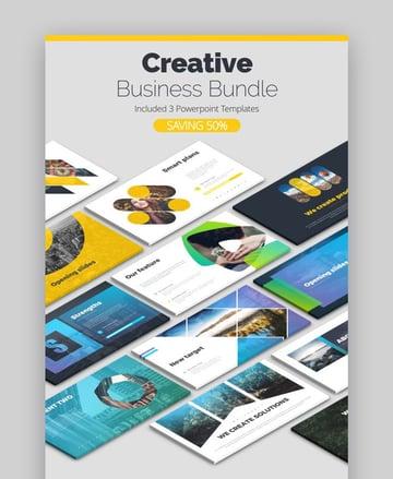 Creative Bundle Unique Business PowerPoint Theme
