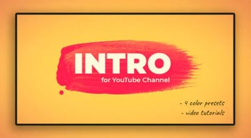 Intro Templates With Dynamic Style