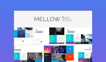Mellow HTML5 Landing Page Template