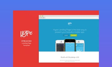 Hype Landing Page HTML5