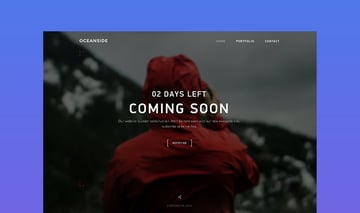 OceanSide Landing Page Template
