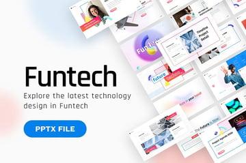 Funtech Futuristic PPT Template