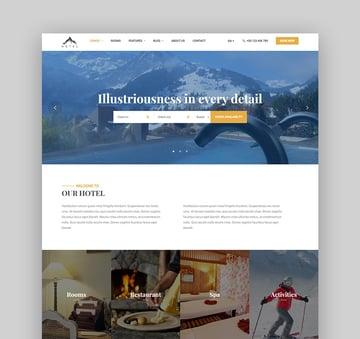 LuxStay Hotel Booking Hotel WordPress Theme