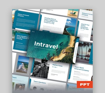 Intravel Travel PowerPoint Template