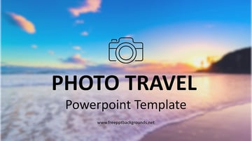 Photo Travel and Tourism PowerPoint Presentation Template Free