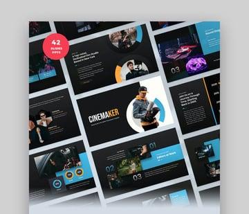 Cinemaker-Geschäftspräsentation PPT