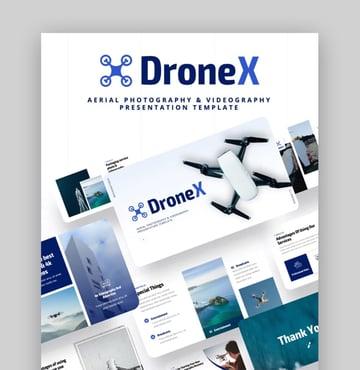 Drone X Professional PPT-Vorlagen