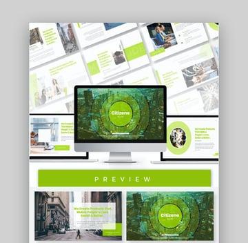 Citizene Modern Presentation Design