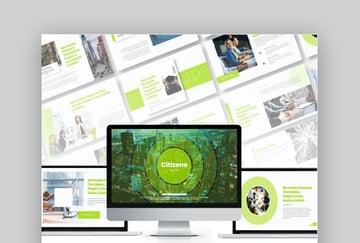 Citizene Mac Keynote Präsentationsvorlage