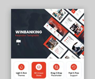 Winbanking Bestes Keynote-Theme für Mac