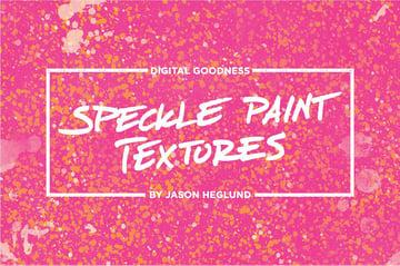 Speckle Paint Professional Background Textures