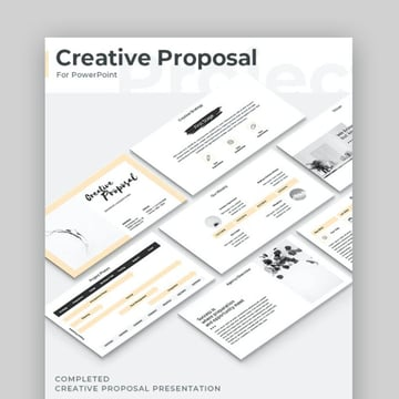Creative Proposal PowerPoint Template