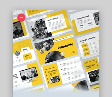Pitch And Proposal Project PowerPoint Template