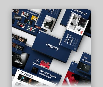 Legacy Portfolio and Photography PowerPoint Template
