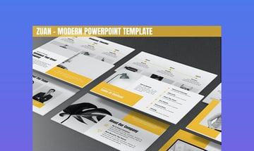 Zuan - Modern PowerPoint Template