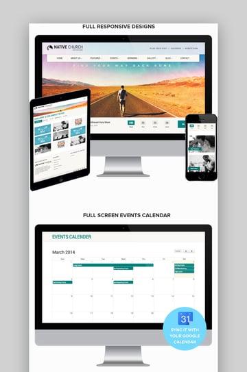 Native Church WordPress Theme