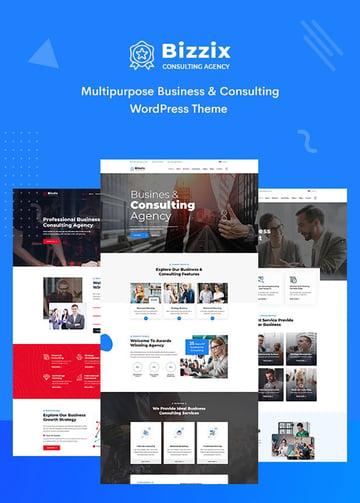 Bizzix Multipurpose Business WordPress Theme