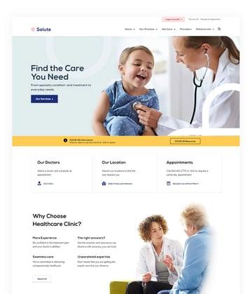 Salute Physiotherapy WordPress Theme