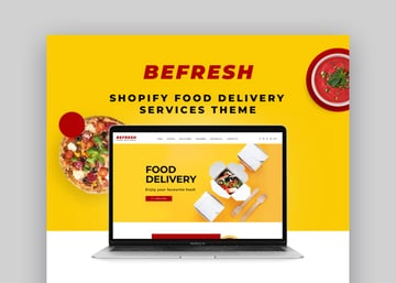 BeFresh Shopify Grocery Store Delivery Website Theme Template