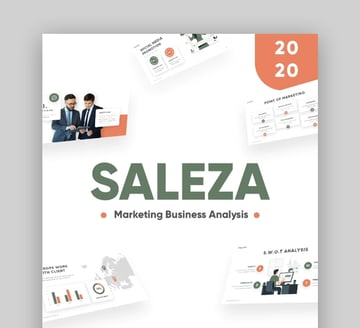 Saleza PowerPoint Sales Presentation