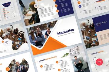 Marketing Change Management Presentation Template