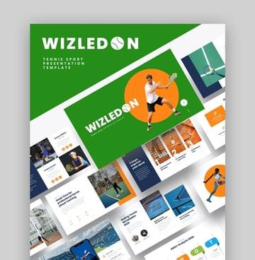 WIZLEDON Presentation About Sport