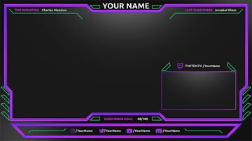 Purpletint Custom Twitch Overlay Download