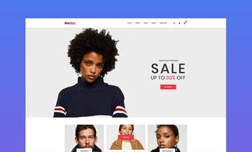 Modaz Minimalist eCommerce HTML Web Page Template