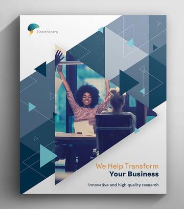 Adobe Brochure Tutorial How to Make Brochure Cover
