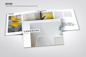 Horizontal Brochure Template InDesign