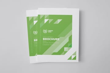 Green InDesign Brochure Design Template