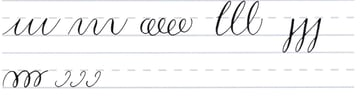 How to do Calligraphy Letters Tutorial make your own font-pointy tipped pen