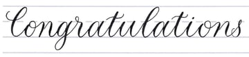 Calligraphy Fancy Alphabet Tutorial make your own font-putting it together