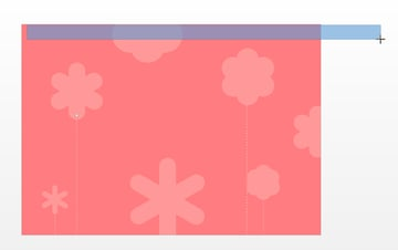 Adding a top border around the page