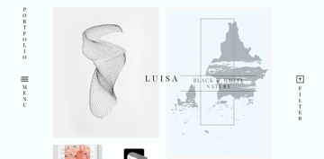 you can build magazine and portfolio website with the LUISA theme