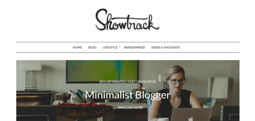MinimalistBlogger is a free minimalist theme for magazine and news websites