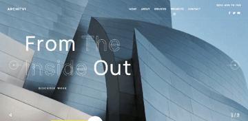 Wavo - Responsive WordPress theme for portfilio websites
