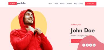 CWW Portfolio - beautiful portfolio theme for WordPress