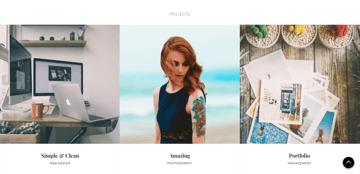 CleanPortfolio - a well-developed WordPress theme for portfolio sites