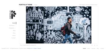 Portfolio Lite - clean WordPress theme for portfolio websites