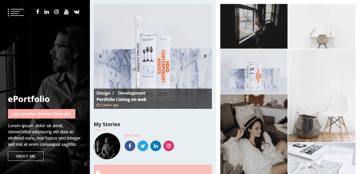 ePortfolio - an elegant WordPress theme