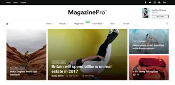 MagPlus - elegant magazine theme for WordPress websites
