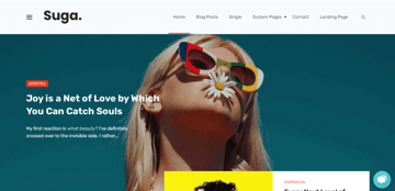 Suga - A modern HubSpot theme for blogs and online magazines