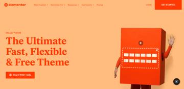 Hello Elementor - a free WordPress theme for Elementor