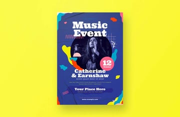 Music Event Flyer by graphicook