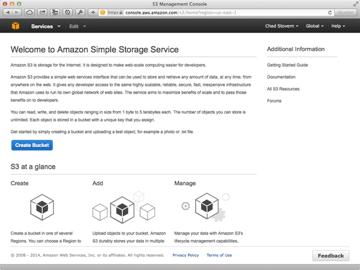 Amazon Web Services S3 Home