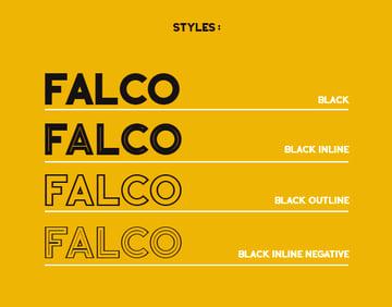Falco font
